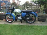 BSA Bantom 1967 - D10- 3 speed 175cc