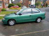 Hyundai Accent coupe 1.3 Automatic/68k/10months mot great runner