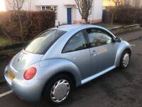 2005 (55) Volkswagen beetle 1.6 1 years mot