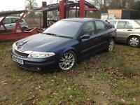 Renault Laguna 1.8 16v 2002 02 reg dynamic manual 5 door