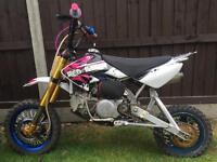 Pit bike crf50 150cc race tuned thumpstar
