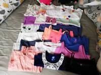 Girls 8-10 vest top bundle
