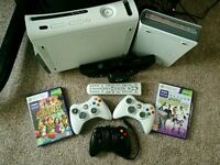 Xbox 360, kinect and Xbox HD DVD player