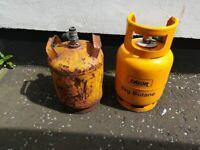 Empty small gas tank 5 kg for caravan campervan