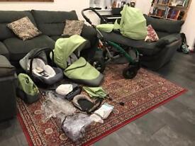 3 in 1 baby travel system - pram / stroller / car seat