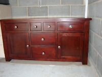 Quality Halo Occasional Furniture incl. corner TV unit, DVD unit, bookcase, sideboard, lamp table.