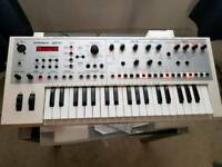 White roland jdxi synthesizer limited edition.