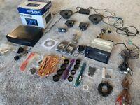 Alpine car stereo / audio large bundle. speakers , head unit , subwoofer etc . VGC .