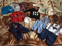 Bundle boy clothes 3-6months-11 items