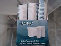 8 Digital Tachograph Rolls