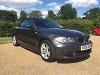 2008 BMW 1 SERIES 120D SE AUTOMATIC 2.0 DIESEL CONVERTIBLE AUTO CABRIOLET 118D