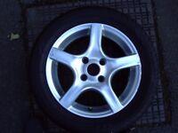 4 X Vauxhall Corsa alloy wheels.
