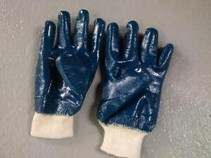 New: Rubber dipped work/gardening gloves. S/M size, 120 pairs