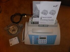 BT Paperjet 65 Fax Machine