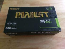 Palit NVIDIA GeForce GTX 1070 Ti 8GB DUAL Graphics Card