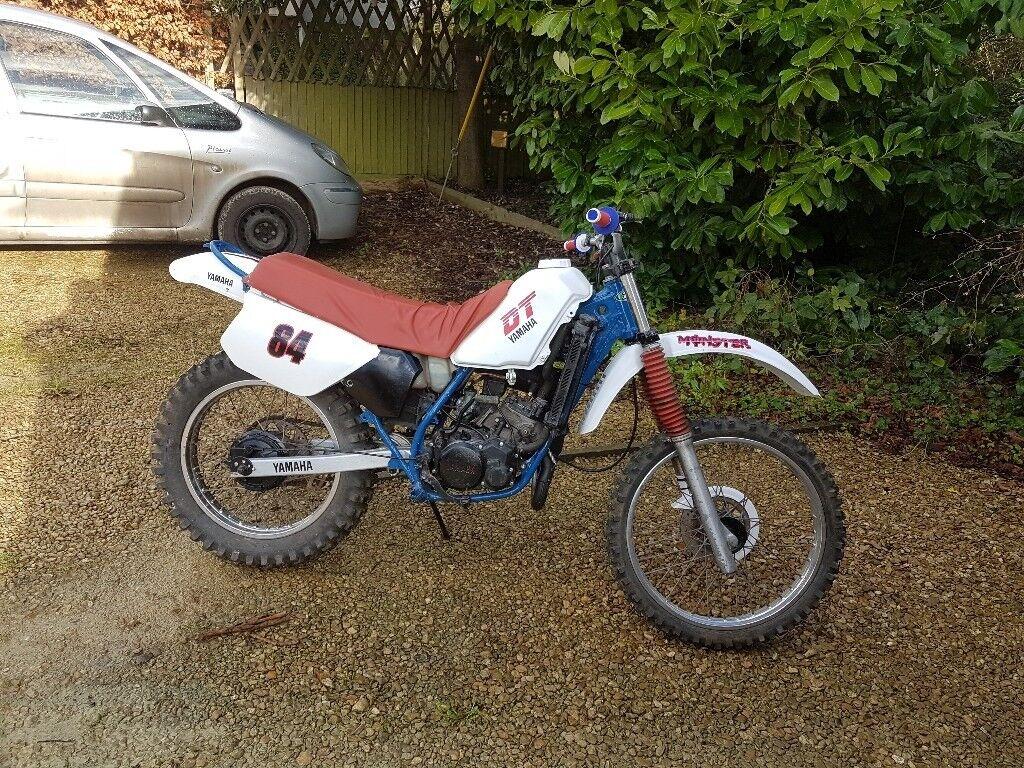 Yamaha Dt 125 Dirt Bike
