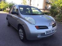 NISSAN MICRA 1.2 ** 5 DOORS** HPI CLEAR ** ONE YEAR MOT