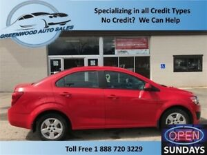 2014 Chevrolet Sonic LS! Auto! AC! PRICED TO MOVE! CALL TODAY!
