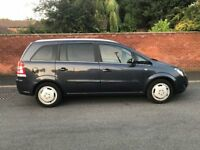 low millage 2010 vauxhall zafira nice 7 seater family car