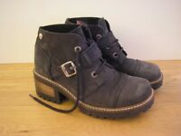 Kickers ladies lace up boots