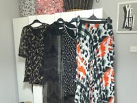 Women's job lot of clothing sizes small 10 dresses skirt cardigans