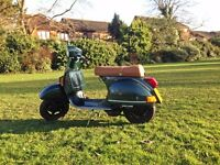 VESPA PX 125. RECENTLY RESPRAYED. LONG MOT. FULHAM