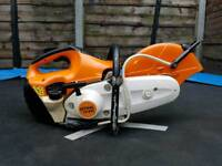 stihl ts410 petrol stone,concrete disc cutter,cut off saw in excellent condition.