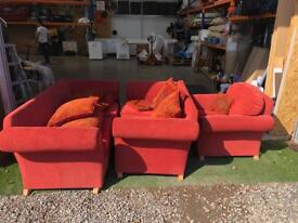 Sofas for sale 3 seater, 2 seater and 1 seater nice condition.