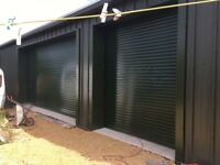 Roller shutters and garage doors supplied and fitted.