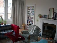 Three rooms in huge Marchmont flat