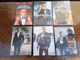 James Bond dvd's