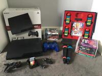 PS3 bundle with singstar and buzz