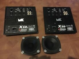 Miller and Kreisel X10 subwoofers mk sound professional