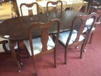 Dining table & 6 chairs Tcl 21428