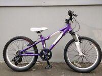 "(2237) 20"" Lightweight Aluminium CARRERA GIRLS MOUNTAIN BIKE BICYCLE Age: 7-10 Height: 125-145 cm"