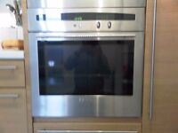 neff Oven Single. Integrated.Stainless Steel.