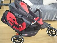 Phil and Teds Double Buggy in Very Good Condition with lots of extras