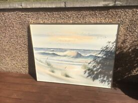 Lee Rynolds beach painting