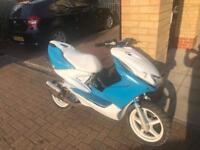 Yamaha aerox 70cc reg as 50cc moped scooter vespa honda piaggio yamaha gilera