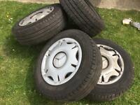 Mercedes Vito wheels and Michelin tyers