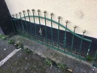 12 Ft Of Quality Galvanised Steel Wall Toppers/Railings/Fencing- DELIVERY/COLLECTION WIGAN