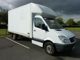 2007 '57' reg. Mercedes Sprinter 311 CDI LWB Luton Box Van with Tail-Lift