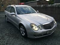 2006 MERCEDES E220 AVANTGARDE CDI SILVER ESTATE DIESEL