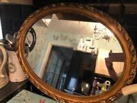Large pretty vintage mirror