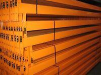 JOBLOT DEXION pallet racking 4.2m high excellent condition ( pallet racking , industrial storage )