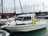 Great condition Scarani Rio 700 pilothouse cabin fish for sale
