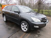 2007 07 LEXUS RX350 3.5 LIMITED EDITION AUTO 4X4 LPG CONVERSION LOW 89K LEATHER CRUISE FSH PX SWAPS