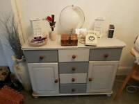 Shabby chic bottom of a dresser