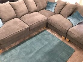 Fabric Corner Sofa For Sale!