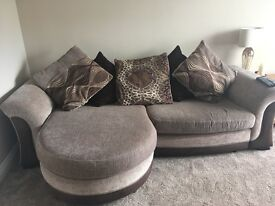 4 seater sofa and sofa bed and chair